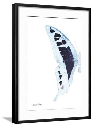 Miss Butterfly Cloanthus - X-Ray Left White Edition-Philippe Hugonnard-Framed Art Print
