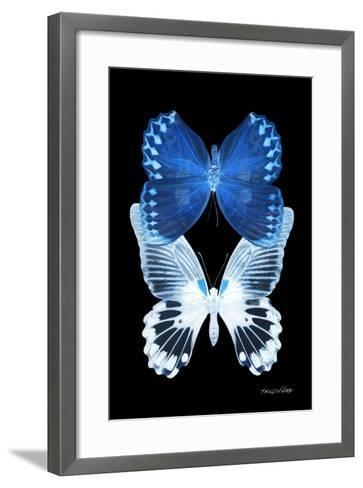 Miss Butterfly Duo Memhowqua II - X-Ray Black Edition-Philippe Hugonnard-Framed Art Print