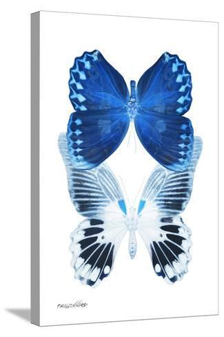 Miss Butterfly Duo Memhowqua II - X-Ray White Edition-Philippe Hugonnard-Stretched Canvas Print