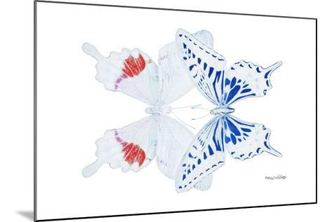 Miss Butterfly Duo Parisuthus - X-Ray White Edition-Philippe Hugonnard-Mounted Photographic Print