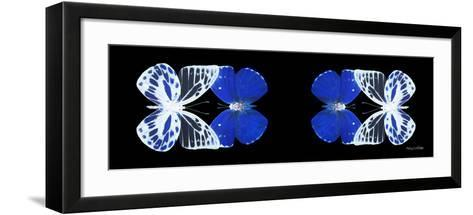 Miss Butterfly Duo Priopomia Pan - X-Ray Black Edition II-Philippe Hugonnard-Framed Art Print