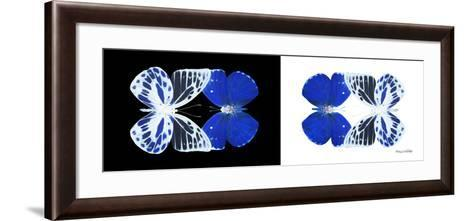Miss Butterfly Duo Priopomia Pan - X-Ray B&W Edition-Philippe Hugonnard-Framed Art Print
