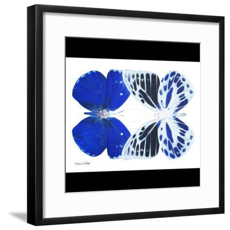 Miss Butterfly Duo Priopomia Sq - X-Ray B&W Edition-Philippe Hugonnard-Framed Art Print