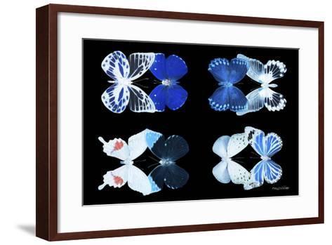 Miss Butterfly X-Ray Duo Black V-Philippe Hugonnard-Framed Art Print