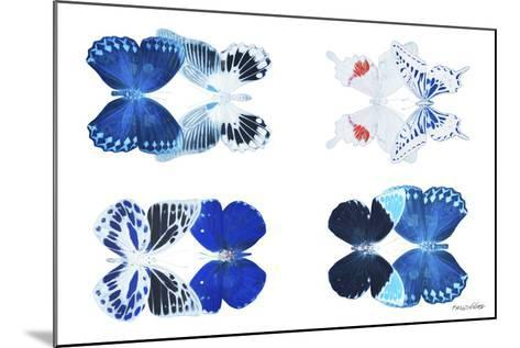 Miss Butterfly X-Ray Duo White III-Philippe Hugonnard-Mounted Photographic Print