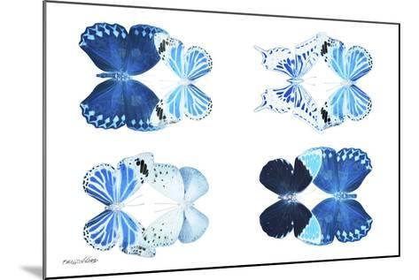Miss Butterfly X-Ray Duo White IV-Philippe Hugonnard-Mounted Photographic Print