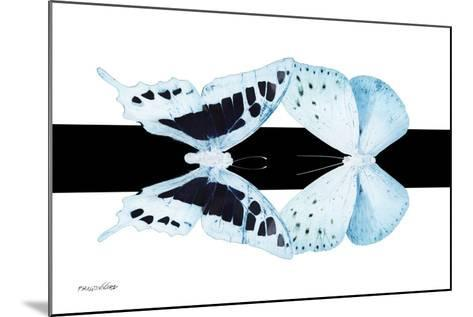 Miss Butterfly Duo Cloanthaea - X-Ray B&W Edition II-Philippe Hugonnard-Mounted Photographic Print