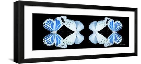 Miss Butterfly Duo Salateuploea Pan - X-Ray Black Edition II-Philippe Hugonnard-Framed Art Print