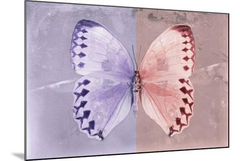 Miss Butterfly Formosana - Mauve & Red-Philippe Hugonnard-Mounted Photographic Print