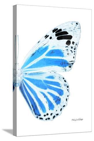 Miss Butterfly Genutia - X-Ray Right White Edition-Philippe Hugonnard-Stretched Canvas Print