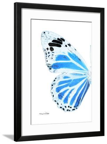 Miss Butterfly Genutia - X-Ray Left White Edition-Philippe Hugonnard-Framed Art Print