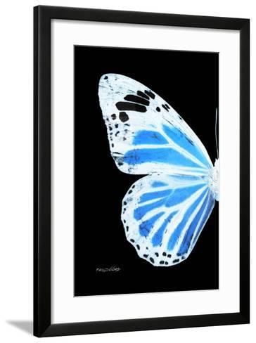 Miss Butterfly Genutia - X-Ray Left Black Edition-Philippe Hugonnard-Framed Art Print