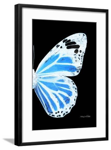 Miss Butterfly Genutia - X-Ray Right Black Edition-Philippe Hugonnard-Framed Art Print