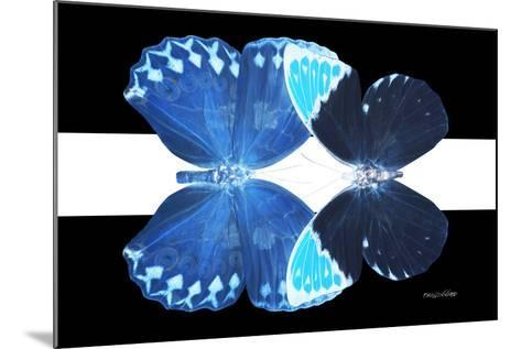 Miss Butterfly Duo Heboformo - X-Ray B&W Edition II-Philippe Hugonnard-Mounted Photographic Print