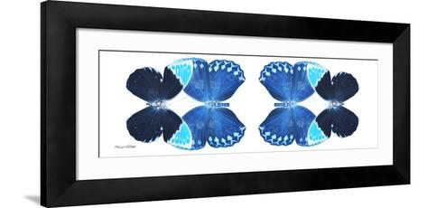 Miss Butterfly Duo Heboformo Pan - X-Ray White Edition II-Philippe Hugonnard-Framed Art Print