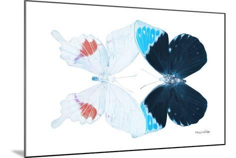 Miss Butterfly Duo Hermosana - X-Ray White Edition-Philippe Hugonnard-Mounted Photographic Print