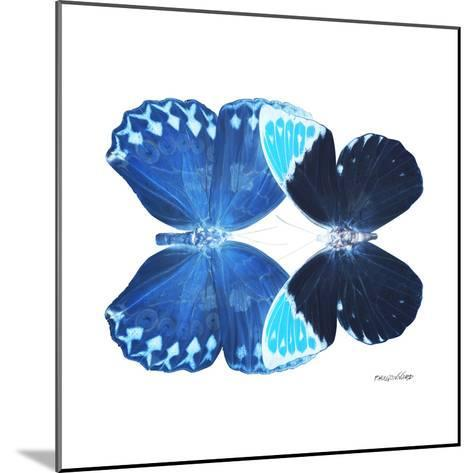 Miss Butterfly Duo Heboformo Sq - X-Ray White Edition-Philippe Hugonnard-Mounted Photographic Print