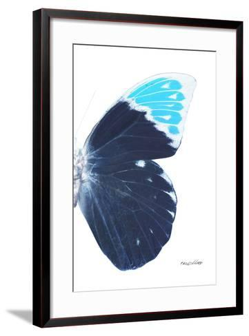 Miss Butterfly Hebomoia - X-Ray Right White Edition-Philippe Hugonnard-Framed Art Print