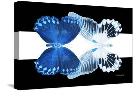 Miss Butterfly Duo Memhowqua - X-Ray B&W Edition II-Philippe Hugonnard-Stretched Canvas Print