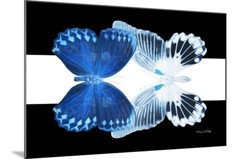 Miss Butterfly Duo Memhowqua - X-Ray B&W Edition II-Philippe Hugonnard-Mounted Photographic Print
