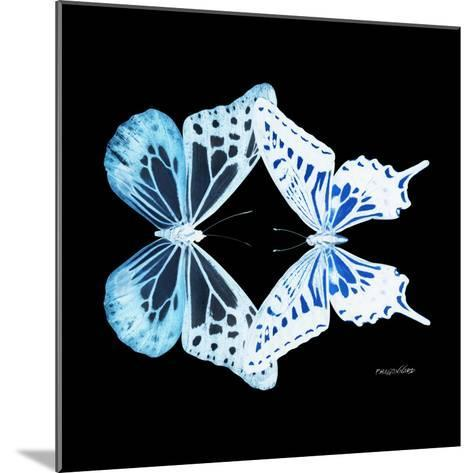 Miss Butterfly Duo Melaxhus Sq - X-Ray Black Edition-Philippe Hugonnard-Mounted Photographic Print