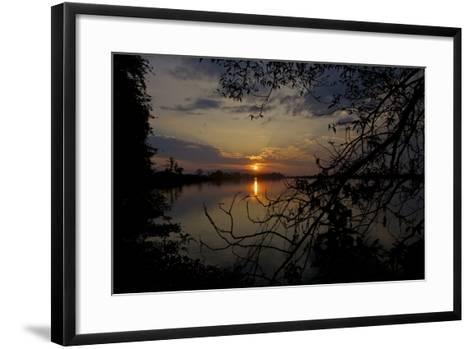 The Brahmaputra River In Kaziranga National Park-Steve Winter-Framed Art Print