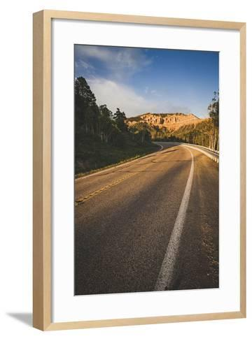 Cedar Canyon, Scenic Byway, State Road 14, Utah-Louis Arevalo-Framed Art Print