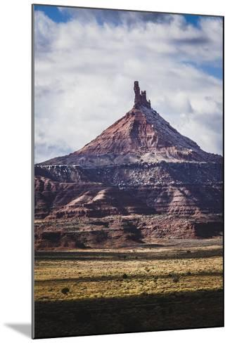 North Six Shooter Tower, Indian Creek, Utah-Louis Arevalo-Mounted Photographic Print