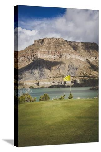 Millsite Golf Course, Ferron, Utah-Louis Arevalo-Stretched Canvas Print