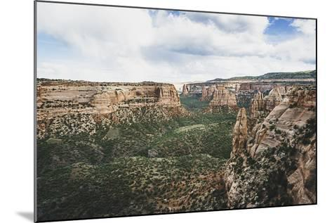 Monument Valley From Window Rock, Colorado National Monument-Louis Arevalo-Mounted Photographic Print