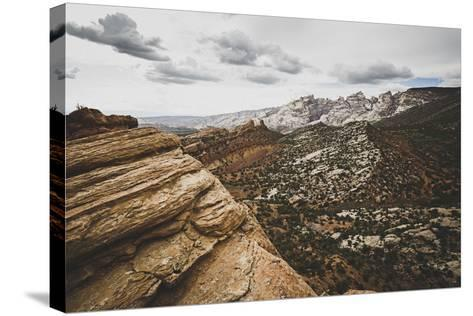 A Stunning Vista At Dinosaur National Monument, Utah-Louis Arevalo-Stretched Canvas Print