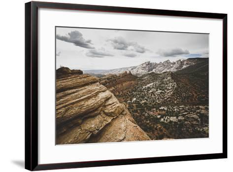 A Stunning Vista At Dinosaur National Monument, Utah-Louis Arevalo-Framed Art Print