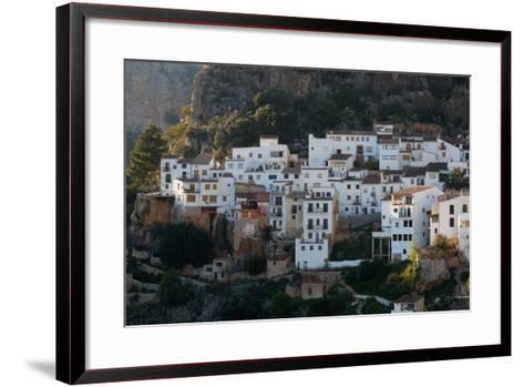The Medieval City Of Chulilla Spain Underneath The Ruins Of A 13Th Century Moorish Castle-Ben Herndon-Framed Art Print