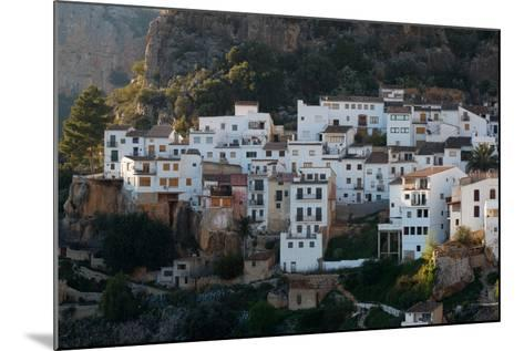 The Medieval City Of Chulilla Spain Underneath The Ruins Of A 13Th Century Moorish Castle-Ben Herndon-Mounted Photographic Print