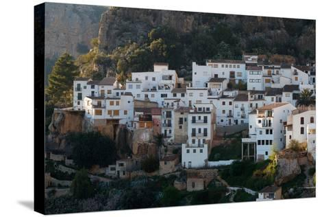 The Medieval City Of Chulilla Spain Underneath The Ruins Of A 13Th Century Moorish Castle-Ben Herndon-Stretched Canvas Print