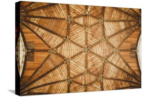 Ceiling Of St Bavo Cathedral, Haarlem, Netherlands. Built In 1520-Louis Arevalo-Stretched Canvas Print