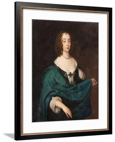 Mary Stewart, Duchess of Richmond and Lennox, c.1640-Unknown Artist-Framed Art Print