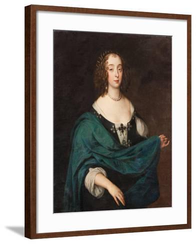Mary Stewart, Duchess of Richmond and Lennox, c.1640-Unknown Artist-Framed Art Print