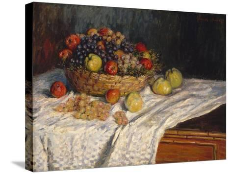 Apples and Grapes, 1879–80-Claude Monet-Stretched Canvas Print