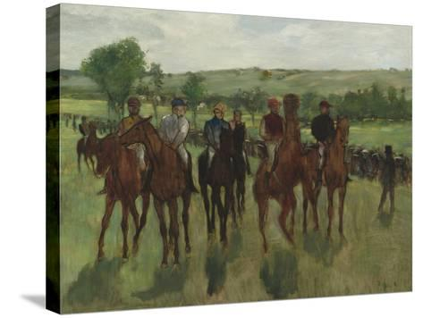 The Riders, c.1885-Edgar Degas-Stretched Canvas Print