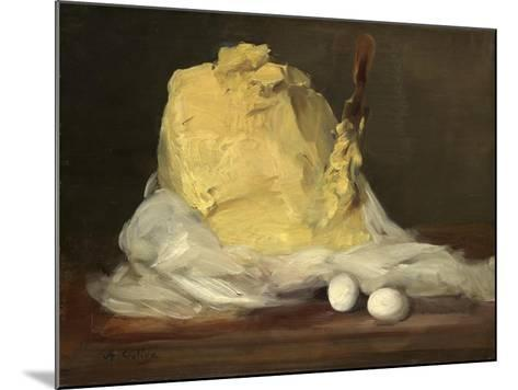 Mound of Butter, 1875-85-Antoine Vollon-Mounted Giclee Print