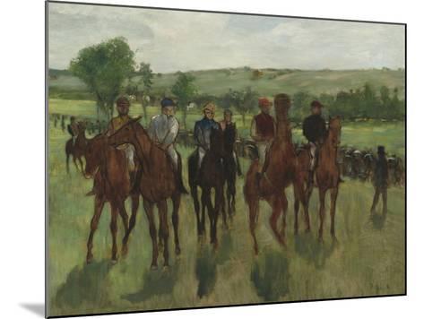The Riders, c.1885-Edgar Degas-Mounted Giclee Print