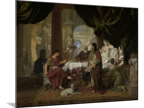 Cleopatra's Banquet, c.1675-80-Gerard De Lairesse-Mounted Giclee Print