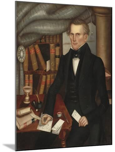 Vermont Lawyer, 1841-Horace Bundy-Mounted Giclee Print