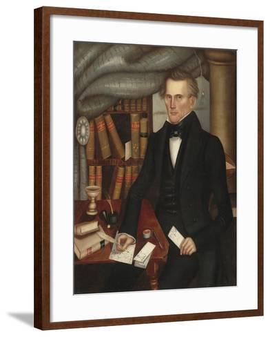 Vermont Lawyer, 1841-Horace Bundy-Framed Art Print
