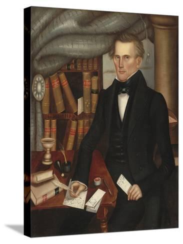 Vermont Lawyer, 1841-Horace Bundy-Stretched Canvas Print