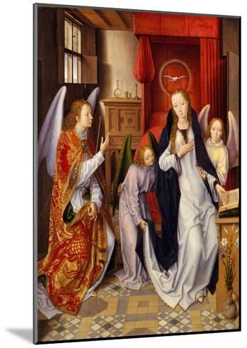 The Annunciation, 1480-89-Hans Memling-Mounted Giclee Print