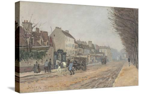 Boulevard Héloïse, Argenteuil, 1872-Alfred Sisley-Stretched Canvas Print