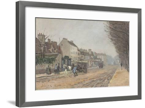Boulevard Héloïse, Argenteuil, 1872-Alfred Sisley-Framed Art Print