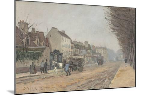 Boulevard Héloïse, Argenteuil, 1872-Alfred Sisley-Mounted Giclee Print